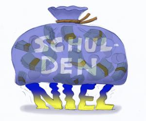 De schuldenberg van Niel