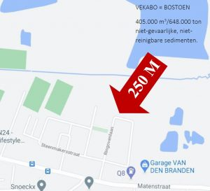 Geen categorie 2-stort op 250m van woonwijk 't Geleeg in Niel